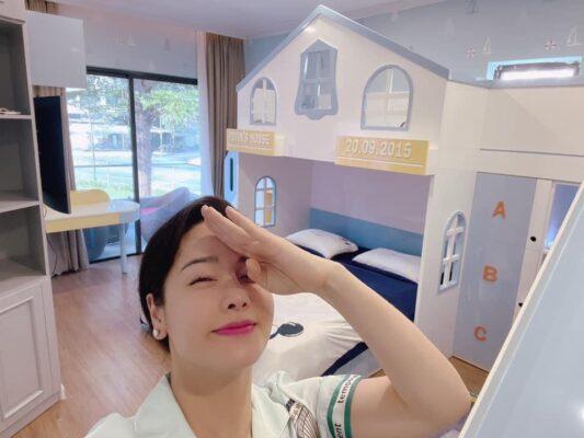 Nội thất phòng ngủ bé trai ca sĩ Nhật Kim Anh hoàn thiện tại Bình Chánh